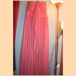 Dresses & Skirts - Bridesmaids Coral Gown Women's Size 22